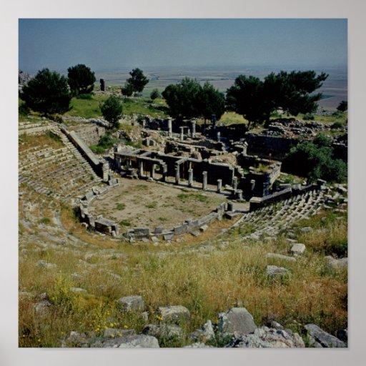 The Greek theatre Print