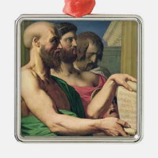 The Greek Tragedians Christmas Ornament