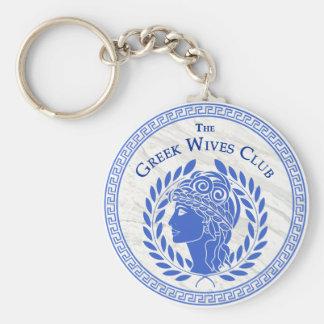 The Greek Wives Club Key Chain