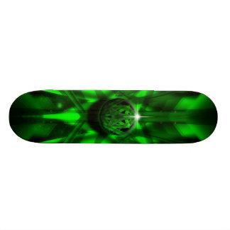 The Green Alien 19.7 Cm Skateboard Deck