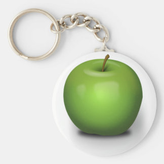 The Green Apple Key Ring