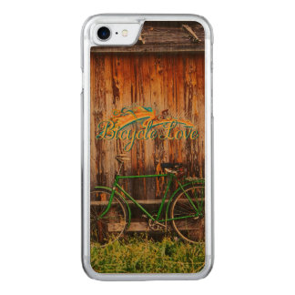 The Green Bicycle 1 Options Carved iPhone 7 Case