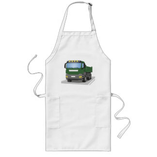 the Green building sites truck Long Apron