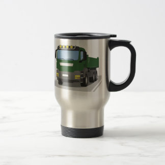 the Green building sites truck Travel Mug