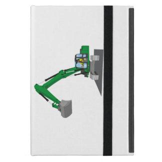 the Green chain excavator iPad Mini Covers