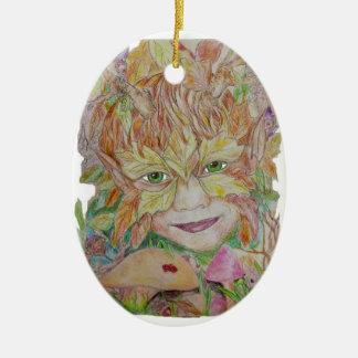 The Green Child Ceramic Oval Decoration