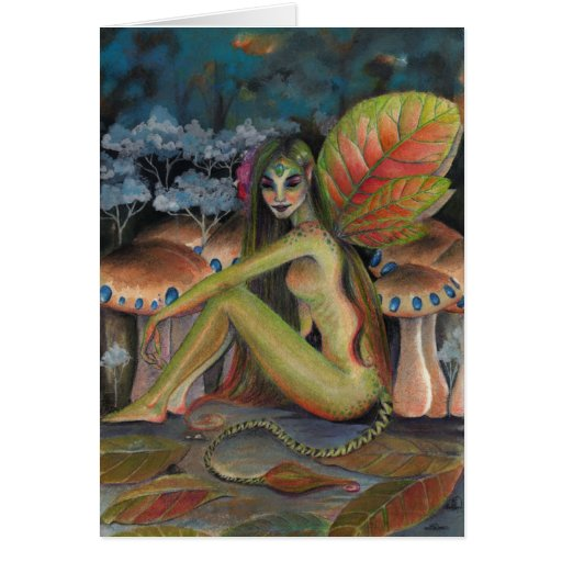 The Green Faerie Greeting Cards