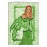 The Green Faery Card