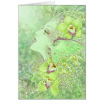 The Green Faery Greeting Card