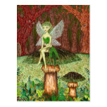 The Green Faery Postcards