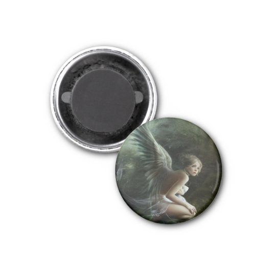 The Green Fairy 3 Cm Round Magnet