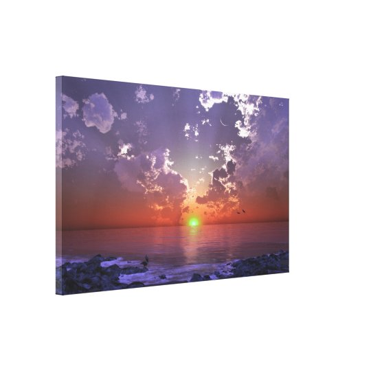 The Green Flash Canvas Print