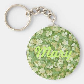 The Green Garden Custom Key Chain