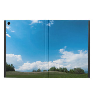 The green hill and the blue sky case for iPad air