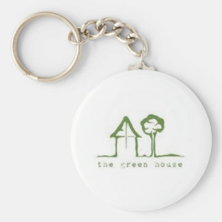 The Green House Keychain