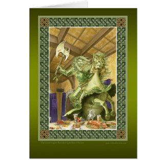 The Green Knight Greeting Card