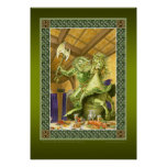 The Green Knight print