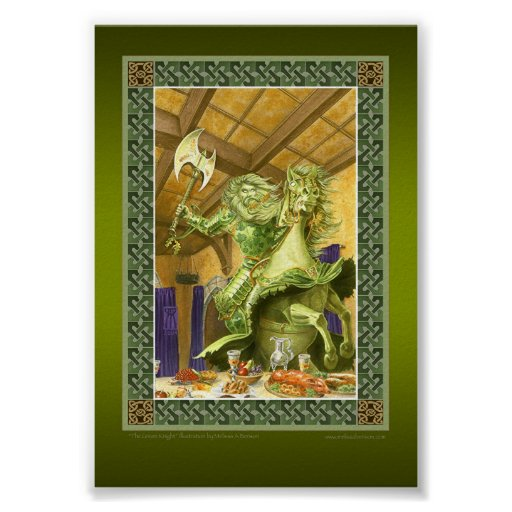 The Green Knight print