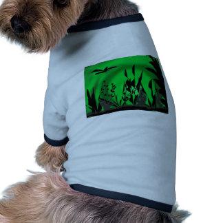 the-green-lagoon pet tee shirt