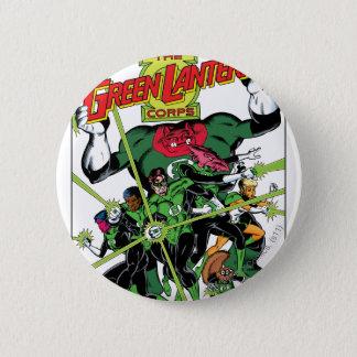 The Green Lantern Corps 6 Cm Round Badge