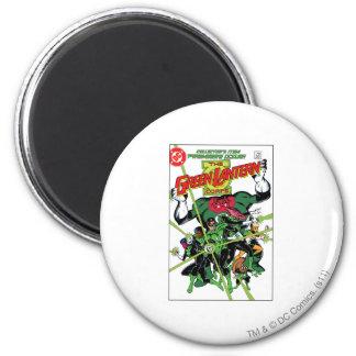 The Green Lantern Corps 6 Cm Round Magnet