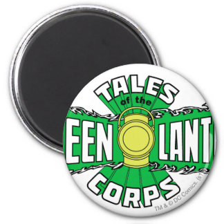 The Green Lantern Corps - Green Logo 6 Cm Round Magnet