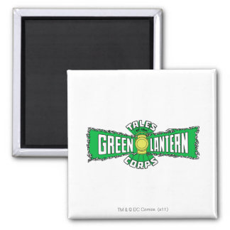 The Green Lantern Corps - Green Logo Magnet
