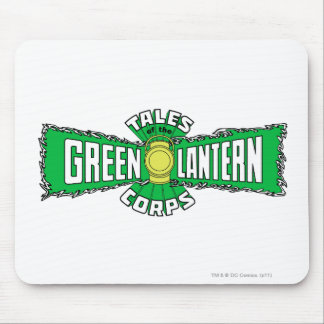 The Green Lantern Corps - Green Logo Mouse Mat