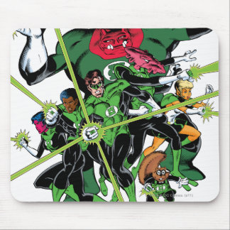 The Green Lantern Corps Mouse Pad