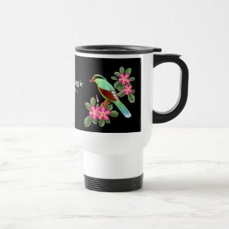 The Green Magpie Travel Mug