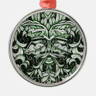 The Green Man Christmas Tree Ornaments