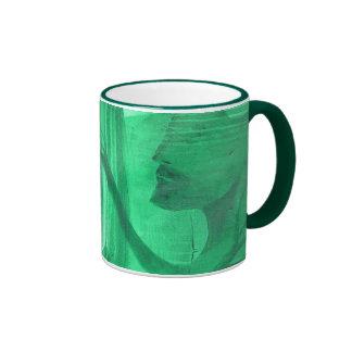 the green man ringer coffee mug