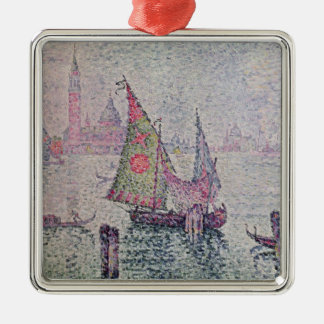 The Green Sail, Venice, 1904 Christmas Ornament