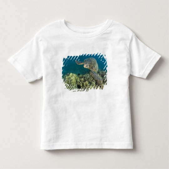 The Green Sea Turtle, (Chelonia mydas), is the 2 Toddler T-Shirt
