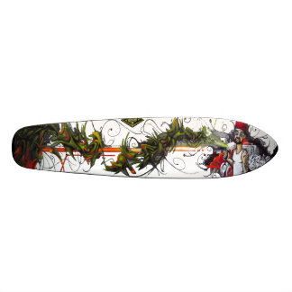 The Green Thumb - Street Art Sk8 Deck 19.7 Cm Skateboard Deck
