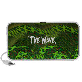 The Green X Wave. Notebook Speakers