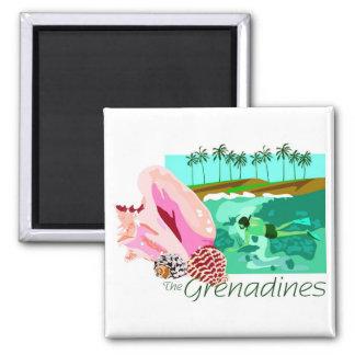 The Grenadines Magnet