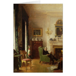 The Grey Drawing Room Greeting Card