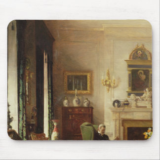 The Grey Drawing Room Mouse Pad
