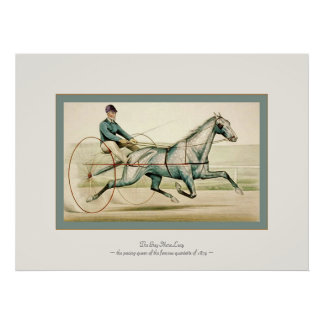 The Grey Mare Lucy ~ Vintage Fine Art Print