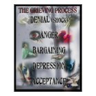 The Grieving Process Poster