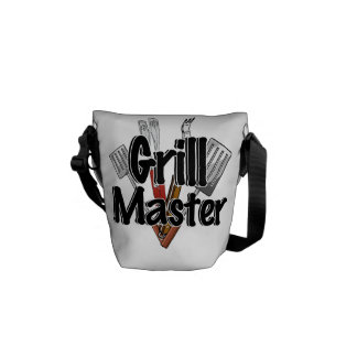 The Grill Master with BBQ Tools Courier Bag