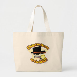 The Grill Thrill Jumbo Tote Bag