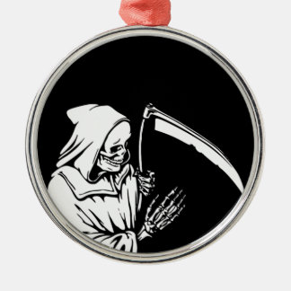 The Grim Reaper or Death Christmas Ornament
