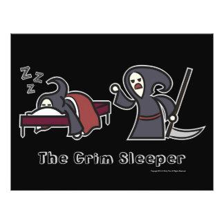 The Grim Sleeper Value Poster Black Flyer Design