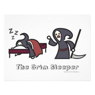 The Grim Sleeper [Value 'Poster', White] 21.5 Cm X 28 Cm Flyer