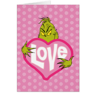 The Grinch | Love Greeting Card