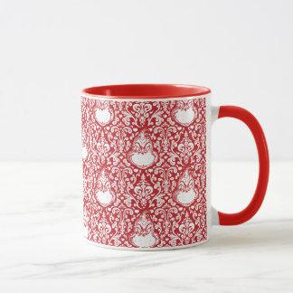 The Grinch | Red Damask Pattern Mug