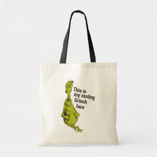 The Grinch | Resting Grinch Face Tote Bag