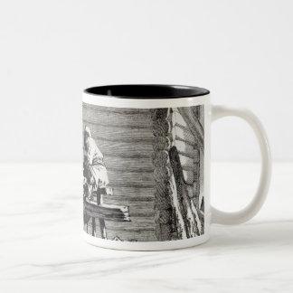 The Grinder Two-Tone Coffee Mug